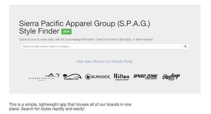 Sierra Pacific Style Finder (S.P.A.G Finder)